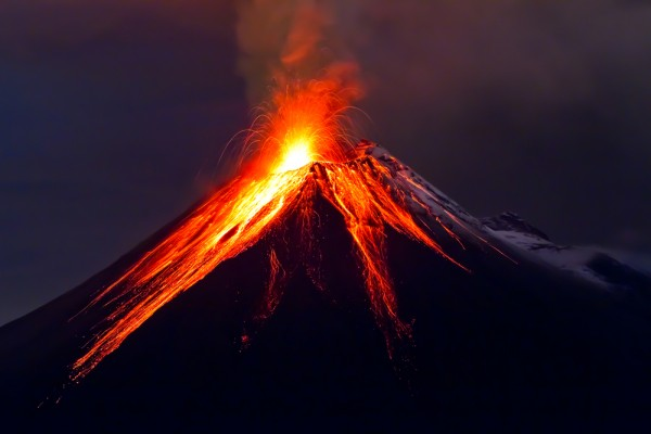 сон про вулкан