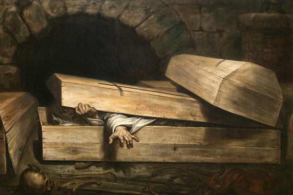 сон про захоронение заживо